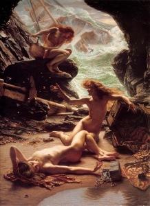 edward-poynter-the_cave_of_the_storm_nymph-el-erotismo-y-el-desnudo-en-el-arte-m